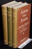 Arnim: Saemtliche Romane und Erzaehlungen