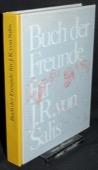 Buch der Freunde: Fuer J. R. von Salis