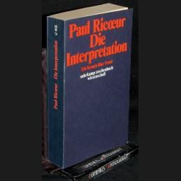 Ricoeur .:. Die Interpretation