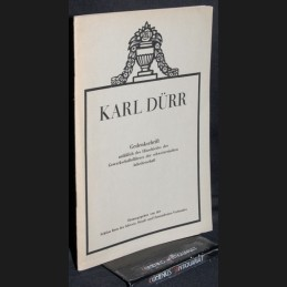 Karl Duerr .:. Gedenkschrift