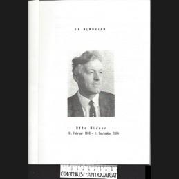 In memoriam .:. Otto Widmer