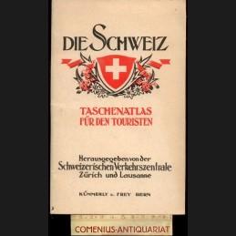 Die Schweiz .:. Taschen-Atlas