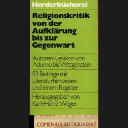 Weger .:. Religionskritik