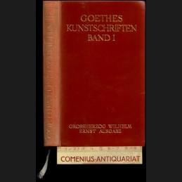 Goethe .:. Kunstschriften [1]