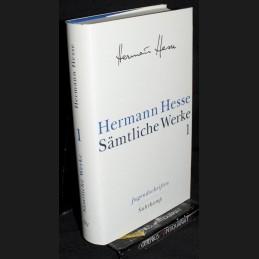 Hesse .:. Saemtliche Werke [1]