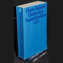 Bahlow .:. Deutsches...