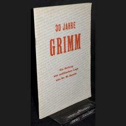 Baechi .:. 30 Jahre Grimm