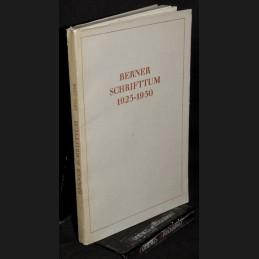 Berner .:. Schrifttum 1925...