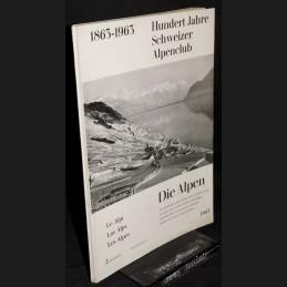 Die Alpen .:. 39/2, 1963