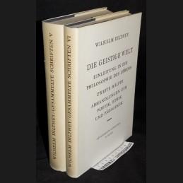 Dilthey .:. Die geistige Welt