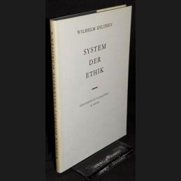 Dilthey .:. System der Ethik