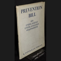 Reinhold .:. Prevention Bill