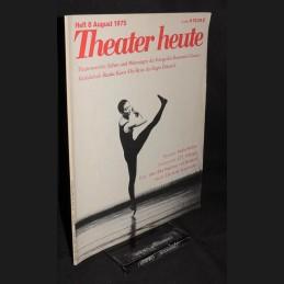 Theater heute .:. 1975/08