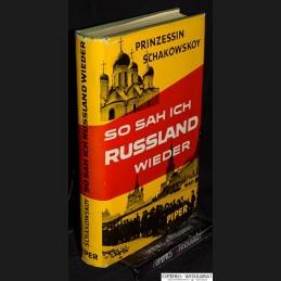 Šachovskaja .:. So sah ich...