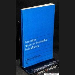 Buerger .:. Studien zur...