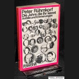 Ruehmkorf .:. Die Jahre,...