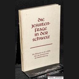 NZZ .:. Die Jesuitenfrage...