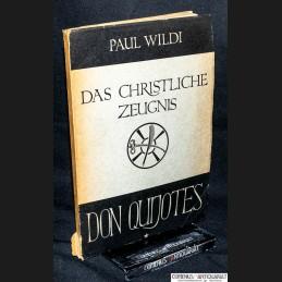 Wildi .:. Das christliche...