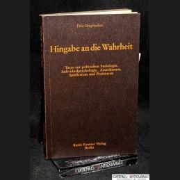 Brupbacher .:. Hingabe an...